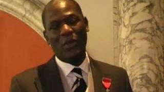 Errol Douglas on his MBE