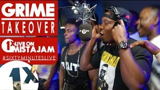 SixtyMinutesLive - Dizzee Rascal, BBK, Lethal Bizzle, Tempa T, Fekky, Footsie & General Levy