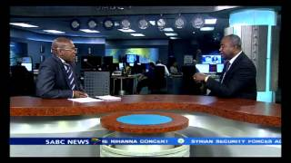 Vuyo Mvoko interviews Charles Taylor's lawyer Courtney Griffiths