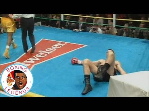 Dennis Andries Makes History: Boxing Classic